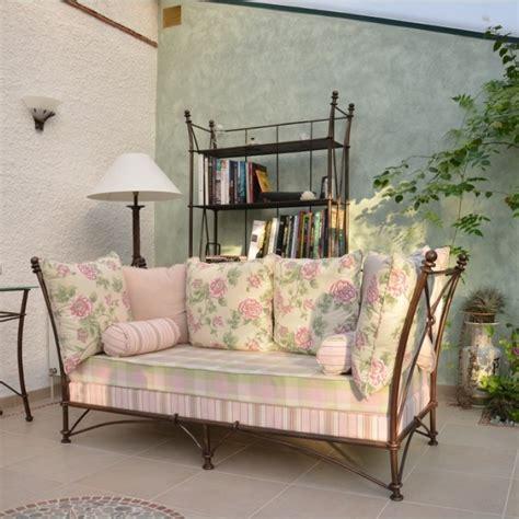 canapé en fer canapés et fauteuils en fer forgé fabrication artisanale