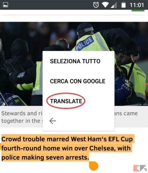Traduttore Mobile by Tradurre Pagine Web Con Firefox In Android Chimerarevo