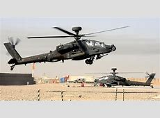 FileApache Helicopter Land at Camp Bastion Airfield