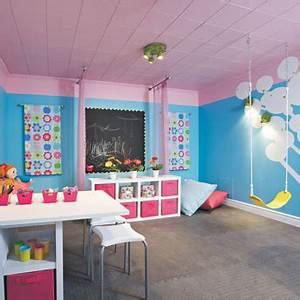 Idée Rangement Salle De Jeux : concevoir une salle de jeu attrayante et s curitaire ~ Zukunftsfamilie.com Idées de Décoration