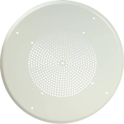 bogen orbit ceiling speakers bogen communications pg8w ceiling grille for 13 quot pg8w b h