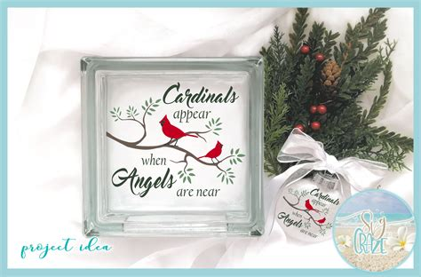 cardinals   angels   christmas memorial quote svg sofontsy