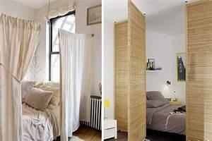 creer une chambre dans un studio trucs astuces deco With creer une chambre dans un studio