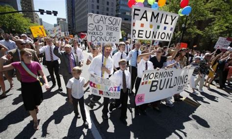 Mormon push church to change belief that homosexuality is ...