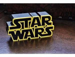 Star Wars Logo By Jcarolinares Thingiverse