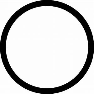 Circle Outline Svg Png Icon Free Download   35054
