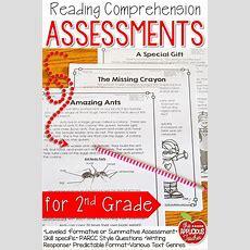 Reading Comprehension Tests 2nd Grade  Assessment, Student And Comprehension