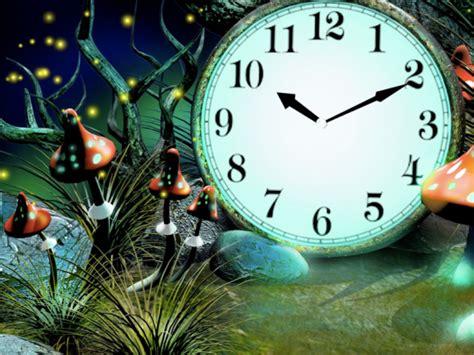 Magic Forest Clock Live Wallpaper