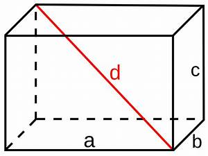 Diagonal Berechnen : datoteka cuboid wikipedija ~ Themetempest.com Abrechnung