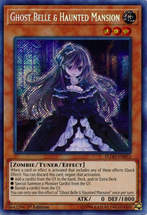 yugioh ghost belle haunted mansion card yu gi oh yashiki flod warashi traps hand cards flames destruction rare secret wiki