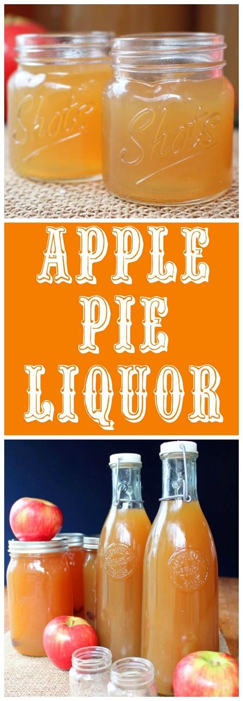 It's one shot wednesday and this week we bring a great. Apple Pie Liquor | Recipe | Apple pie drink, Food photography, Apple pie moonshine