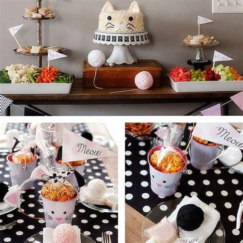 17 Best Ideas About Cat Themed Parties On Pinterest Cat