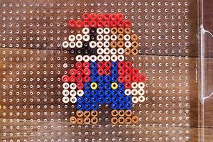 Bügelperlen Super Mario : stand up perler bead characters with mario all for the boys ~ Eleganceandgraceweddings.com Haus und Dekorationen