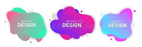 Design Modern Abstract Organic Shapes by A Set Of Modern Vector Banners With Polygonal Stock Vector