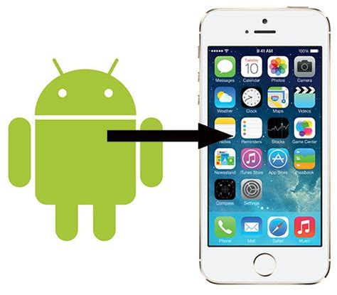 switch from android to iphone things to when switching from android to iphone