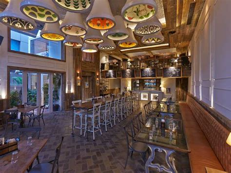 15 best cafe bar restaurant interior designs ad india
