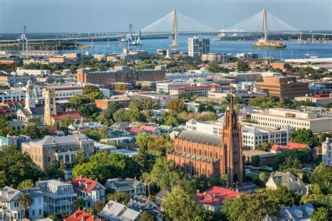 Latest Cost of Living and Population Data for Charleston