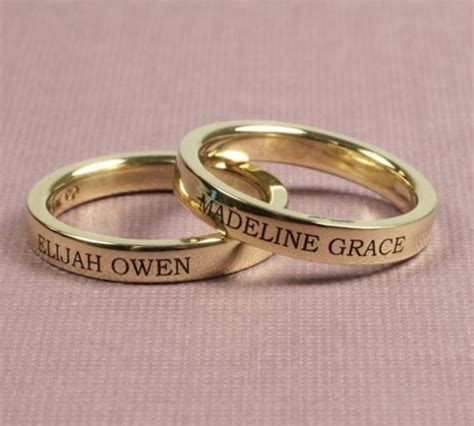 for gt gold engagement rings with name engraved z
