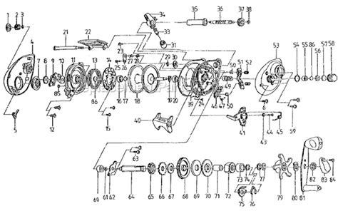 shakespeare sigmabcb parts list  diagram