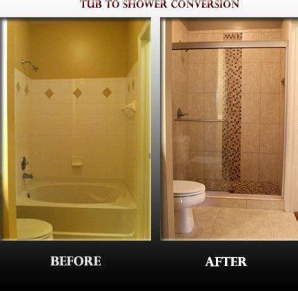 tub  shower conversion spaces contemporary  convert