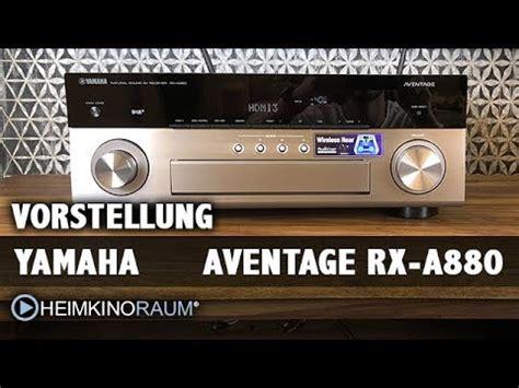yamaha rx a880 test test av receiver yamaha aventage rx a880