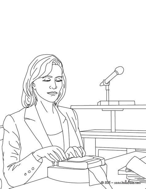 court clerk job coloring pages hellokidscom