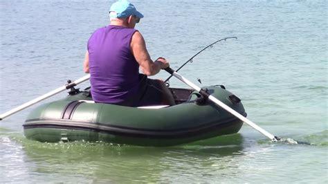 Inflatable Boat Fishing Youtube by New 6 6 Inflatable Fishing Mini Moto Raft Mrf200 Youtube