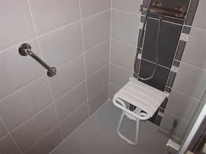 Siege Douche Pmr : salle de bain et wc pour les personnes mobilit ~ Edinachiropracticcenter.com Idées de Décoration