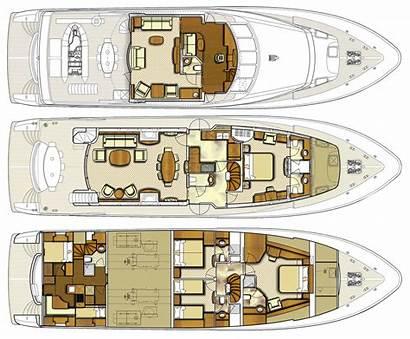 Yacht Layouts Motor Catamaran Yachts