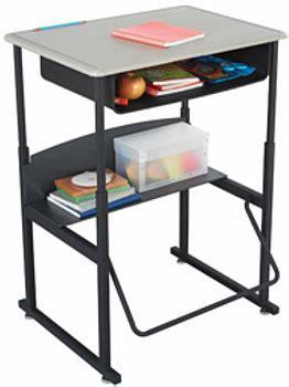 Alphabetter Desks And Stools by Student Desk Alphabetter Desk Adjustable Height Student