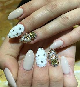 Clear Nail Designs With Flowers 27 Prom Nail Art Designs Ideas Design Trends Premium