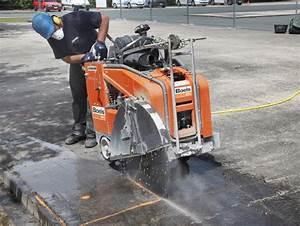 Scie A Beton : scie de sol asphalte b ton 750 mm ~ Melissatoandfro.com Idées de Décoration