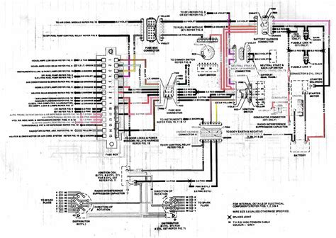 holden vk commodore generator electrical wiring diagram