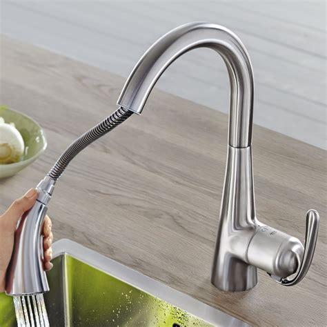 robinet douchette cuisine grohe notre avis sur le mitigeur de cuisine grohe zedra realsteel consobrico