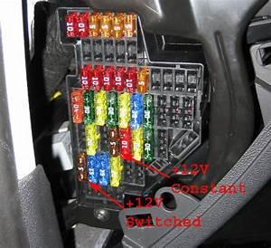 Audi A3 Fuse Box