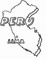 Peru Coloring Pages Haiti Flag Map Peruvian Drawing Printable Getcolorings Haitian Getdrawings sketch template