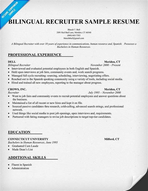 recruit resume service 28 images agency recruiter
