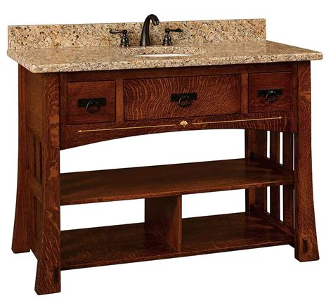 Amish Cabinet Makers Indiana by Amish Made Vanity Sinks
