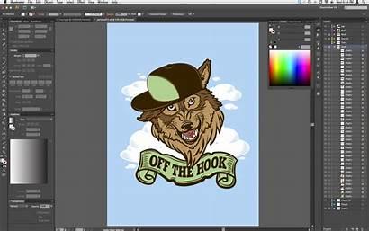 Illustrator Adobe Cs6 Interface Contrast Wallpapers Grafica