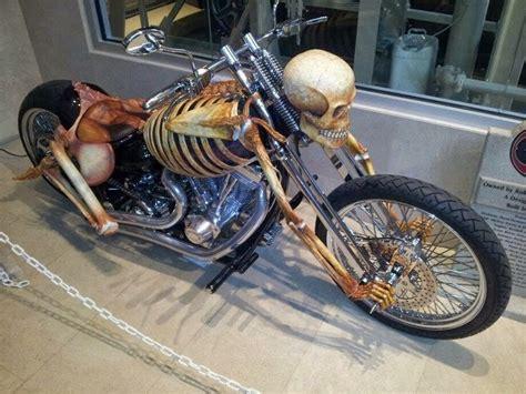Customized Skeleton Motorcycle