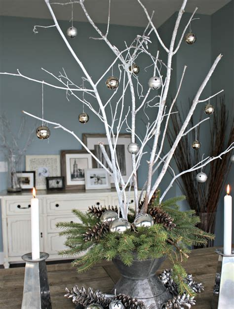 top  christmas decoration   twigs  branches