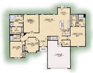 Harmonious Two Master Suites House Plans by Schumacher Homes House Plan Detail