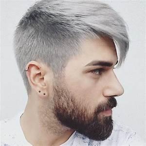 Coupe Homme Cheveux Gris : coupe de cheveux gris homme court coupes de cheveux l gantes de la jeunesse 2019 ~ Melissatoandfro.com Idées de Décoration