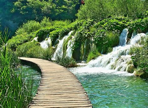 Attraction National Park Plitvice Lakes Photos And Info
