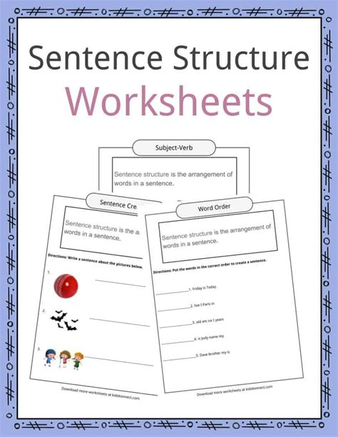 sentence structure worksheets advanced sentences with adverbs for free printables worksheet