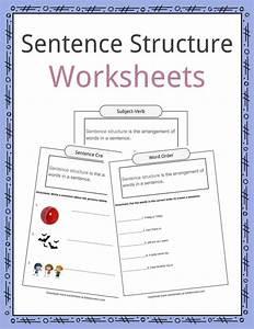 Sentence Structure Worksheets  Examples  U0026 Definition For Kids