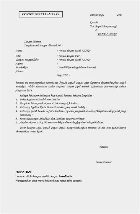 Contoh Surat Lamaran Cpns Kemenristekdikti by Format Surat Lamaran Cpns Kemenristekdikti 2018