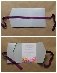 wedding paper divas diy pocket folds diy wedding With wedding paper divas pocket invitations