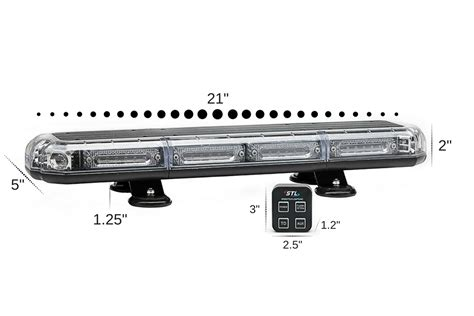 small led light bar k force micro 21 quot linear led mini light bar m kfml21 stl