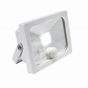 Projecteur à Détection : projecteur ext rieur d tection manta blanc led ~ Edinachiropracticcenter.com Idées de Décoration